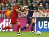 Vidal y Filipe Luis, Bayern - Atlético