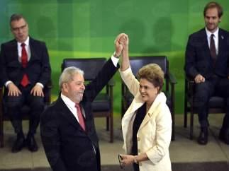 Lula da Silva y Rousseff