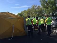 Muere un motorista tras chocar contra un turismo en la A-6
