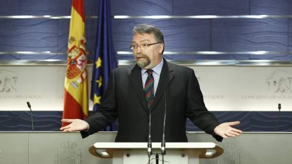 El representante de Foro Asturias, Isidro Martínez Oblanca