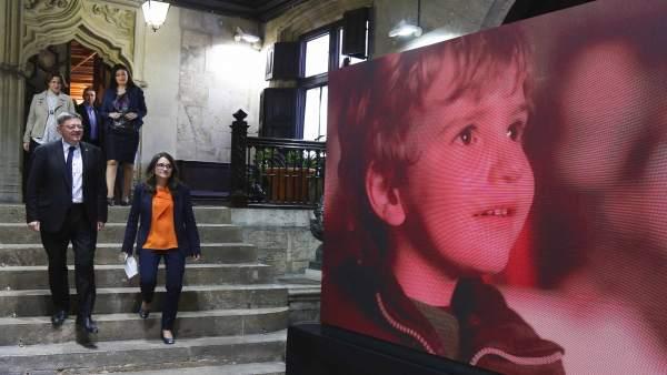 Presentación del vídeo #orgullvalencià.