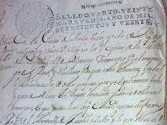 Documentos del Archivo Histórico Provincial de Sevilla