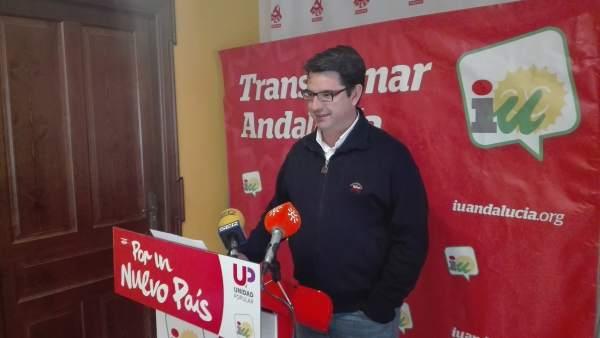 El coordinador provincial de IU en Córdoba, Pedro García