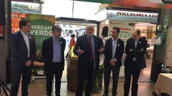 Presentación de la campaña Mercados Verdes y de los actos con motivo de la Semana Internacional de Mercados.