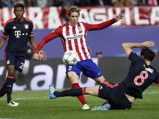Fernando Torres en el Atlético Madrid - Bayern Munich