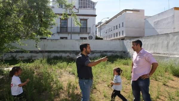 IU propone implantar huertos urbanos en el Espacio 'Los Alambres'
