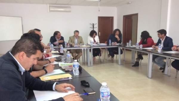 Reunión en Aguablanca