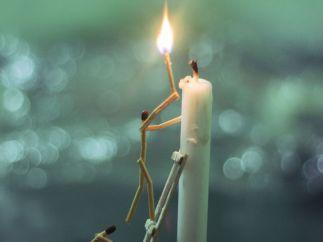 Una llama de esperanza