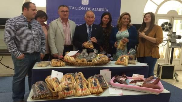 El presidente de la Diputación, Gabriel Amat, ha apoyado 'Con Sabor Alhama'.