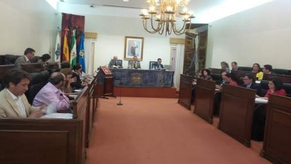 Pleno de Diputación de Huelva del mes de mayo.