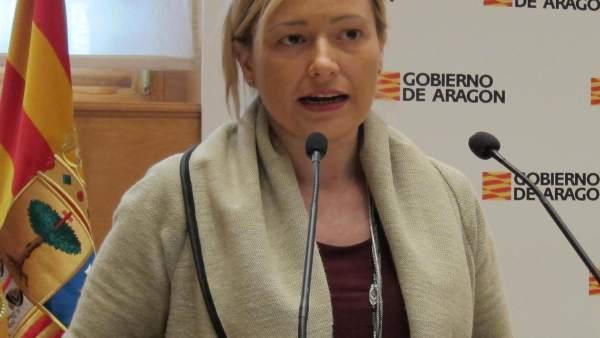 La consejera de Economía de Aragón, Marta Gastón