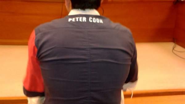 El hostelero acusado de hostigar al matrimonio denunciante.