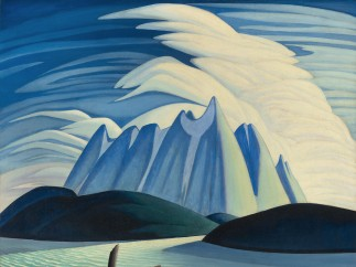Lawren Harris - Lake and Mountains, 1928