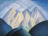 Lawren Harris - Untitled (Mountains near Jasper), 1934