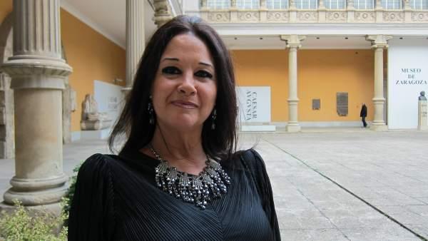 La escritora aragonesa Magdalena Lasala