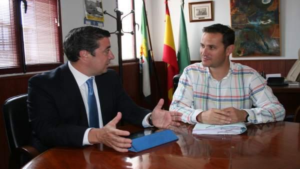 Reunión Telefónica y Ayuntamiento de Malpartida de Plasencia