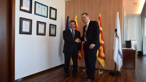 Josep Andreu y Marcos Mandojana