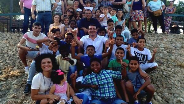 Menores saharauis del programa 'Vacaciones en paz'