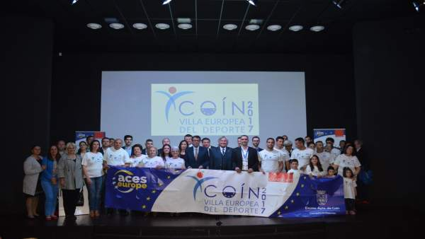 Coín, candidata a Villa Europea del Deporte para 2017