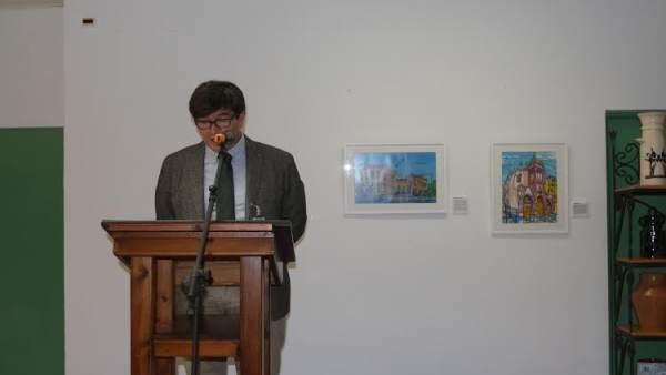 El artista onubense Andrés Espuelas.