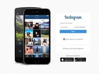 Instagram inicio