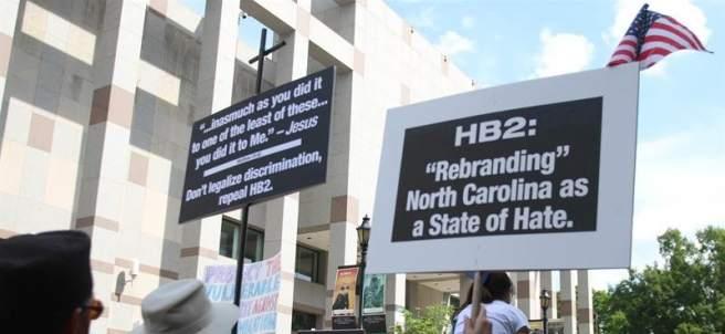 Contra la ley anti LGBT de Carolina del Norte