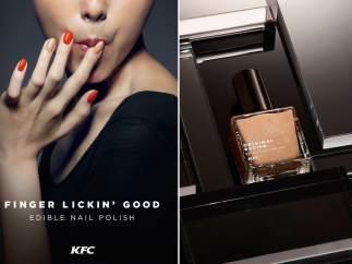 Esmalte de uñas de KFC
