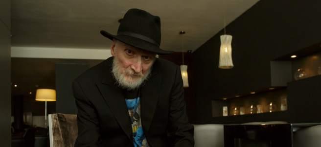 Frank Miller, el autor de cómics como 'Batman', '300' o 'Elektra', durante su visita a Barcelona con motivo del 34 Salón del Cómic.