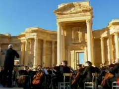 Palmira celebra la victoria frente al EI con un concierto de orquesta rusa