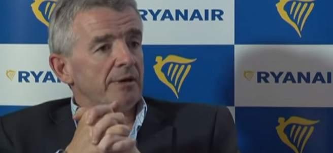 El consejero delegado de Ryanair, Michael O'Leary