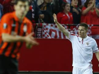 Gol de Gameiro al Sevilla - Shakhtar