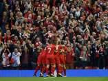 Gol del Liverpool