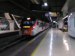 Atropello mortal en una estación de tren de Barcelona