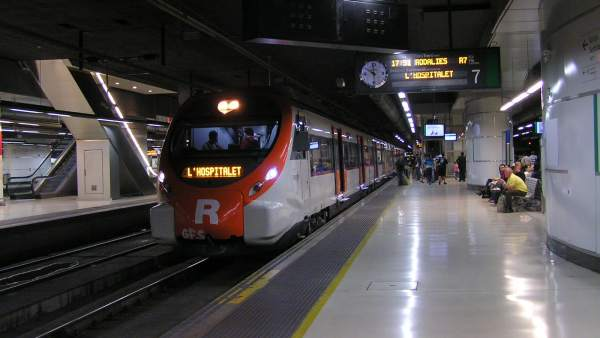 Renfe de Barcelona.