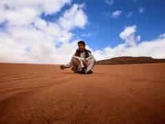 La lucha por la arena del desierto