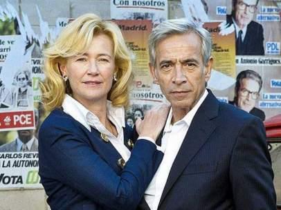Los actores Ana Duato y Imanol Arias