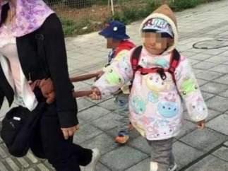 Lai Rijia, niño chino con autismo.
