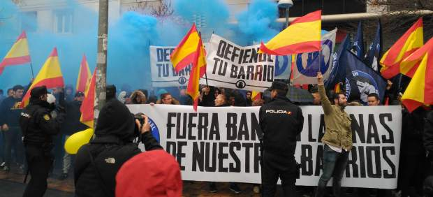 Hogar Social Madrid se manifiesta en contra de las bandas latinas