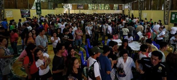 Más de 54 millones de filipinos están llamados a las urnas este lunes para elegir presidente