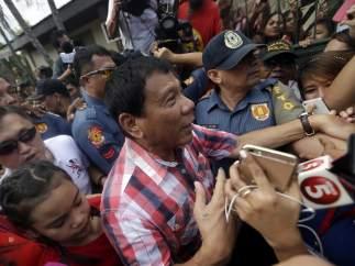 Rodrigo Duterte elecciones Filipinas