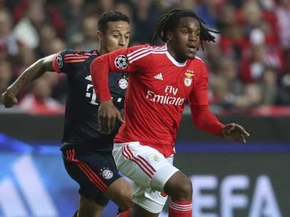 Renato Sanches y Thiago, Benfica - Bayern
