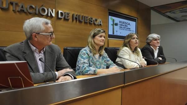 Presentación de los actos de la Plataforma del Voluntariado en la DPH