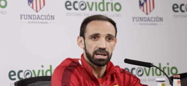 Juanfran Torres, en rueda de prensa