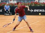 Roger Federer en el torneo de Roma