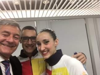 Carpena, Berta Ferreras y Pau Ribes