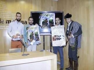 Presentación de las fiestas de San Isidro Labrador en Alameda