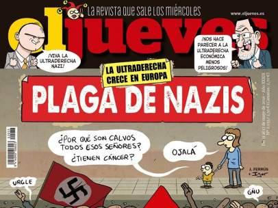 Portada de 'El Jueves' sobre el movimiento neonazi.
