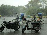 Aguacero en Bangladesh