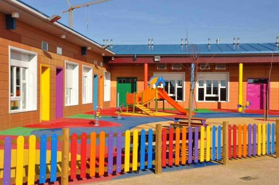 La dpz destina euros a la mejora de colegios for Jardines pequenos para escuelas