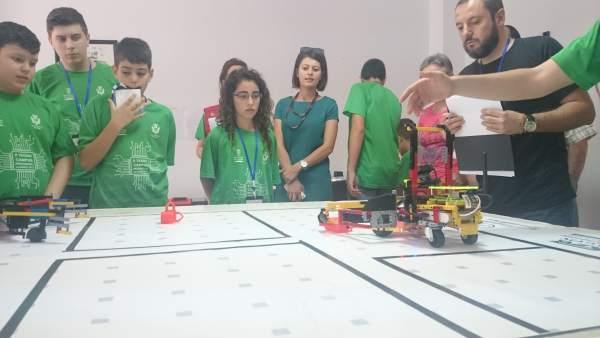 El Tecnoencuentro de Pulpí reunirá a 300 jóvenes interesados en robots.